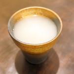 蒼凛 - 丸山蕎麦湯割り