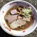 中華蕎麦 とみ田 - 「友情のド豚骨ラーメン」850円(松戸モリヒロフェスタ)