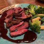 グラスワイン 桜坂 ル・ボワ - 鹿肉のお料理
