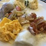大江ノ郷テラス - ブュッフェでいただいた料理です