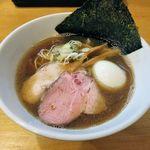 麺屋 湊 - 料理写真:麺屋 湊(にぼしラーメン750円+あじたま100円)