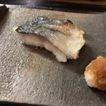 松榮鮨 - 生銀ダラの塩焼き
