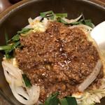 口福炒飯楼 - ピリ辛担担土鍋炒飯