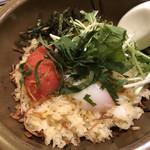 口福炒飯楼 - 明太子と半熟卵