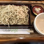 紅葉屋 - 〇くるみ蕎麦 大盛1,080円+250円