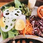 YURT - 彩りが美しいサラダ