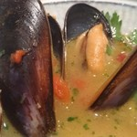 和献洋菜Hi-Bi - 魚介類のブイヤベース