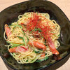 イロハズ・カフェ - 料理写真:「ソーセージとキノコのペペロンチーノ」(880円+税)。