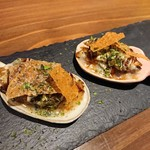 創作鉄板 粉者牛師 - 牡蠣の一口お好み焼き