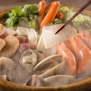 上野での新年会など各種宴会に!鍋料理メインの飲み放題付コース