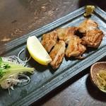 蕎麦処 みかわ - しゃも焼き(塩)