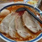 麺匠 双葉 - 辛味噌+チャーシュー