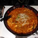元祖トマトラーメンと辛麺とトマトもつ鍋 三味 - 辛麺