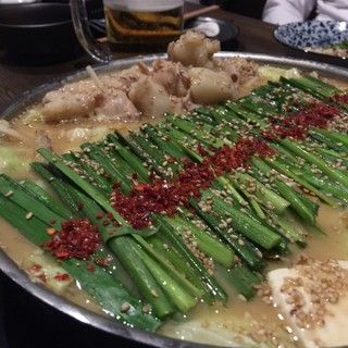 博多もつ鍋 いっぱち 新大阪店 - 飲み放題お手軽コース  4000円(税込)