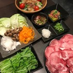 タンしゃぶ鍋と焼肉の店 こいずみ - 料理写真:タン食べつくしタンしゃぶ鍋コース