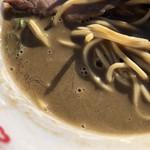 麺処 晴 - 香ばしくも重くない濃厚煮干しスープ
