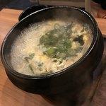 ニク マッスル スグル - 玉子わかめスープ