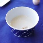 レストラン ボンヌママン ノブ - 栗のスープ