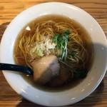 麺や 佐渡友 - 魚介がつん700円