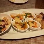 taverna TAKEDA - 前菜盛り合わせ1