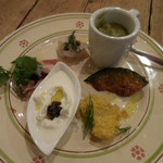 オステリア セルヴァジーナ - 料理写真:前菜