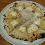 ハーレーパーク - 4種のチーズピザ