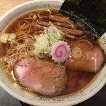 97151823 - (煮干し醤油スープ)中華そば 730円。
