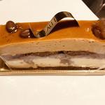 97152083 - キャラメルムースとコーヒー豆が香る、11月の限定品。甘さが控えめで美味(๑>◡<๑)