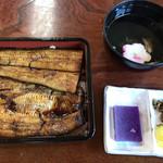 橋本食堂 - 鰻重 上(2,400円)