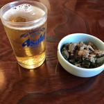 橋本食堂 - ビールとお通し