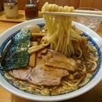 自家製中華そば としおか - ラーメン玉子(並)+メンマ(小)