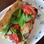 ヤキチ - 料理写真:自家製ベーコンのサンドウィッチ。パッカーン♡。