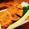 松村 - 料理写真:ロースかつ定食
