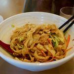 秦唐記 - ヨウポー麺(油泼面) 熱盛り 850円