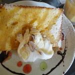 イタリアンカフェ・ベーム - キャラメルシフォンケーキ