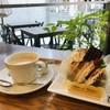 ママのえらんだ元町ケーキ - 料理写真:チョコレートシフォンケーキと、ホットコーヒーをいただきました(2018.11.24)