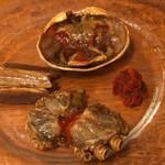 海鮮中国料理黄河 - 鳥取県産セイコ蟹の紹興酒漬け