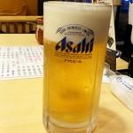 天下一品 - 生ビール:504円