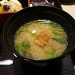 天満橋 吉安 - 味噌汁
