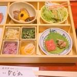 97170832 - 「銀座ひむか 尾崎牛レディース膳」3200円(税抜)
