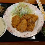 南国亭 - 料理写真:アグーひれかつ定食\1200(18-11)