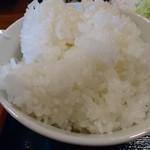 南国亭 - 定食のご飯(18-11)