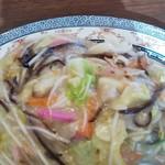 まるしょう - 料理写真:皿うどん太麺
