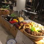 ろくろく亭 - 料理写真:本日の野菜系素材