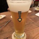 クラフトビアサーバーランド - やくらいビール シャンパンラガー 宮城(840円/Pint) 2018.11
