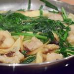 やましょう GEMS市ヶ谷店 - 料理写真:もつ鍋 醤油味(一人前)@1,500円:グツグツと。