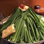 角源 - 名物のモツ鍋