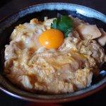 山のたまご - 地鶏卵の親子丼