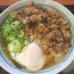 香の川製麺 - 料理写真:肉玉うどん並:650円