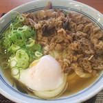 香の川製麺 - 肉玉うどん並:650円